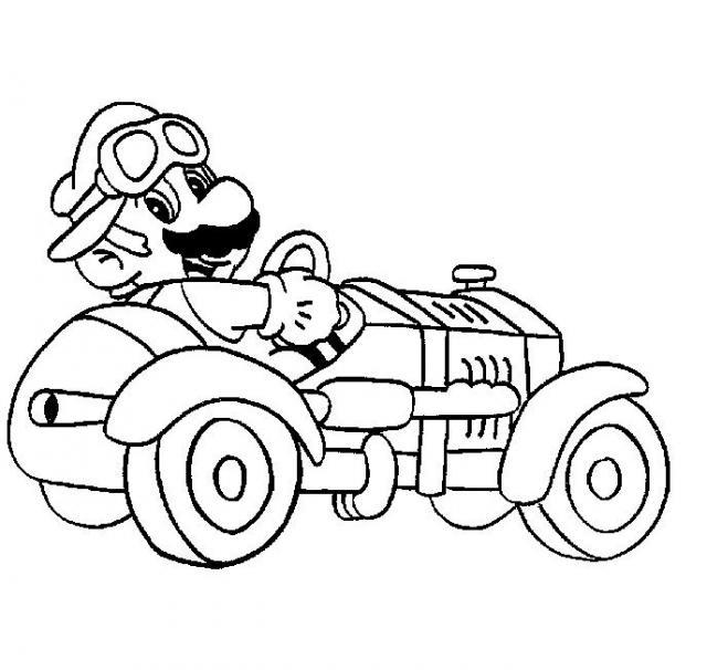 Super Mario Kinderbilder Gratis Ausdrucken Und Ausmalen
