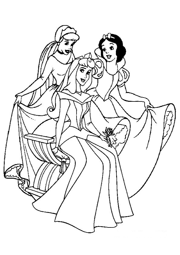 Malvorlagen Disney Prinzessin ausmalbilder. Malbilder ausdrucken
